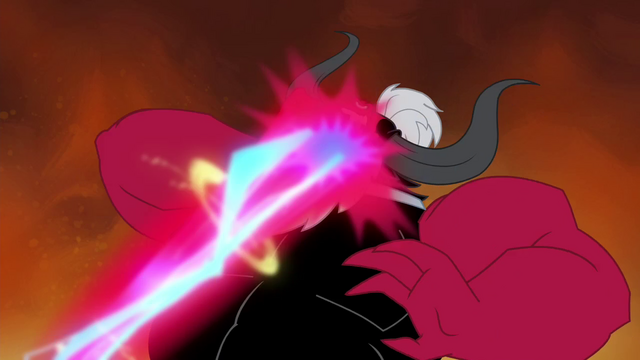 File:Tirek's face being shot by laser beam S4E26.png