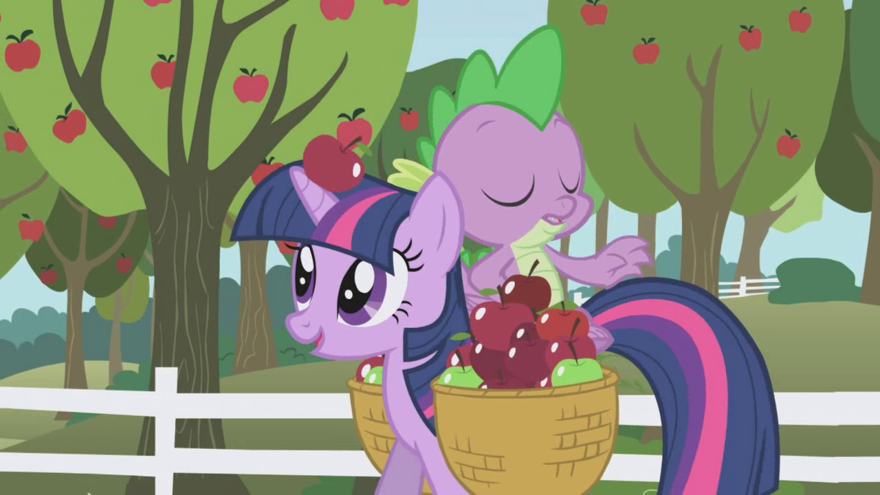 An apple falling S01E03