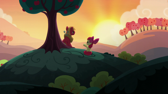 """File:Apple Bloom """"pretty crazy idea in the first place"""" S5E17.png"""