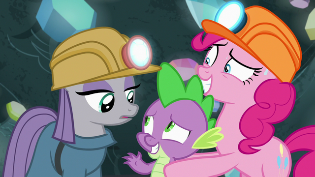 File:Maud Pie and Spike greet each other S7E4.png