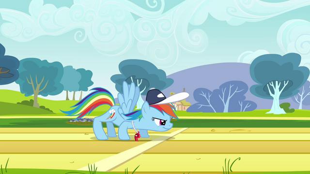 File:Rainbow Dash ready to dash S2E22.png