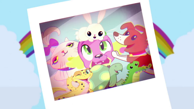 File:Photograph of the Mane Seven's pets SS7.png