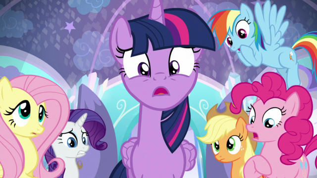 """File:Twilight Sparkle """"I could be wrong"""" - episode version S6E1.png"""