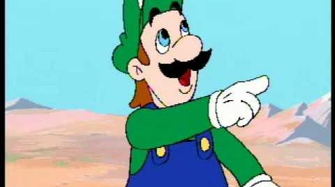Luigi says OVER THERE for 10 minutes