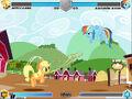 Applejack vs Rainbow Dash Sweet Apple Acres Fighting is Magic.jpg