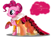 Pinkie Pie Gala Fashion Dress by artist-selinmarsou