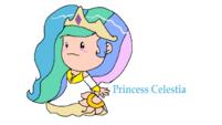 Princess Celestia in EarthBound