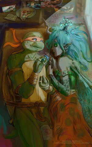 File:Mikey and Chrysalis.jpeg