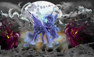 Princess Luna by artist-superrobotrainbowpig