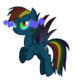Rainbow Dash infected by dark magic by artist-tzolkine.png