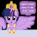 Princess Alicorn Twilight Sparkle by artist-smile