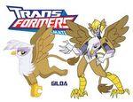 Gilda as a Transformer