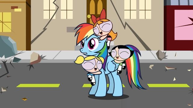 File:Rainbow-Dash-and-the-Powerpuff-Girls.jpg
