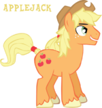 Profile Applejack 2 by Trotsworth