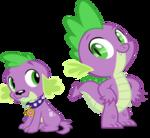 Spike and spike by hampshireukbrony