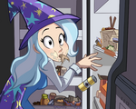 Trixie at Someone's Fridge by Ric-M