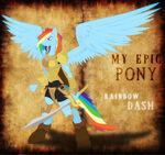 Epic Rainbow Dash