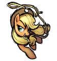 Applejack character art no background Fighing is Magic.jpg