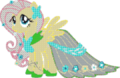 Fluttershy Gala Dress Minecraft.png