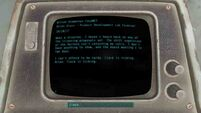 Fallout 4 Wilson Automatoys terminal entry 3
