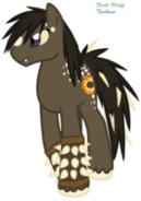 Anguirus pony by faith wolff-d6henzs