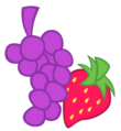 Berry punch cutie mark by solusjbj.png