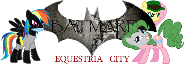 EqD Halloween Banner - BatmareEquestriaCity
