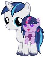 Colt Shining armor and baby Twilight