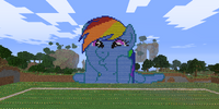 Ponies in Minecraft/Gallery