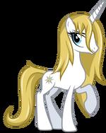 Princess blueblood by checker pony