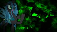 Queen Chrysalis wallpaper by artist-kigaroth