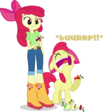 Applebloom and applebloom by hampshireukbrony