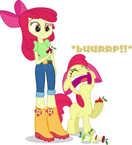 File:Applebloom and applebloom by hampshireukbrony.png