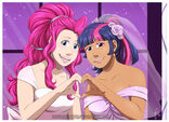 Twilight and Pinkie's Wedding by HazuraSinner