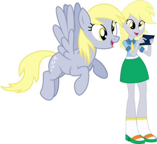 File:Derpy and derpy by hampshireukbrony-d6rmv4g.png
