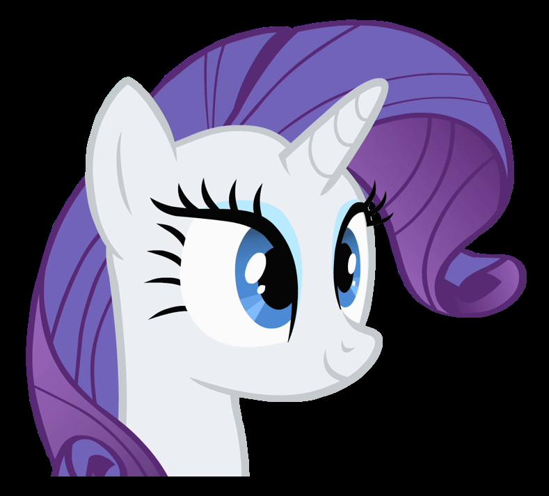 Image Rarity Head Cutout Png My Little Pony Fan Labor