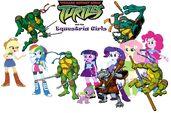 Teenage Mutant Ninja Turtles Equestria Girls