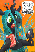 Queen Chrysalis by artist-sophiecabra