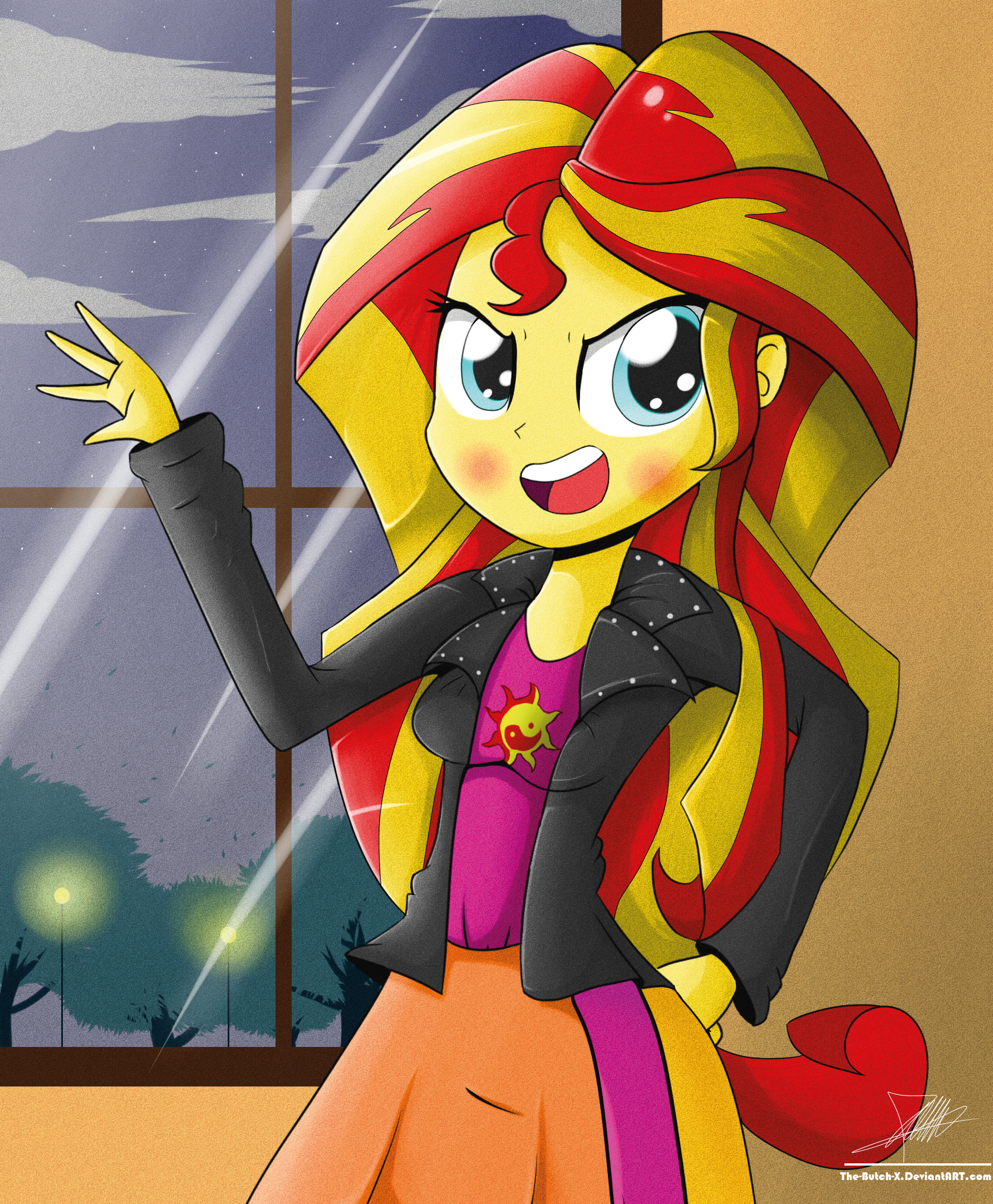 [My Little Pony] Student 6 Human by Banquo0 on DeviantArt