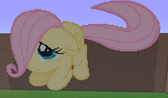 FANMADE Filly Minecraft Fluttershy
