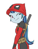 Sonata Dusk as Deadpool by carnifex