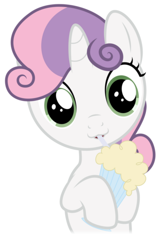 File:Sweetie Belle drinking her vanilla milkshake.png