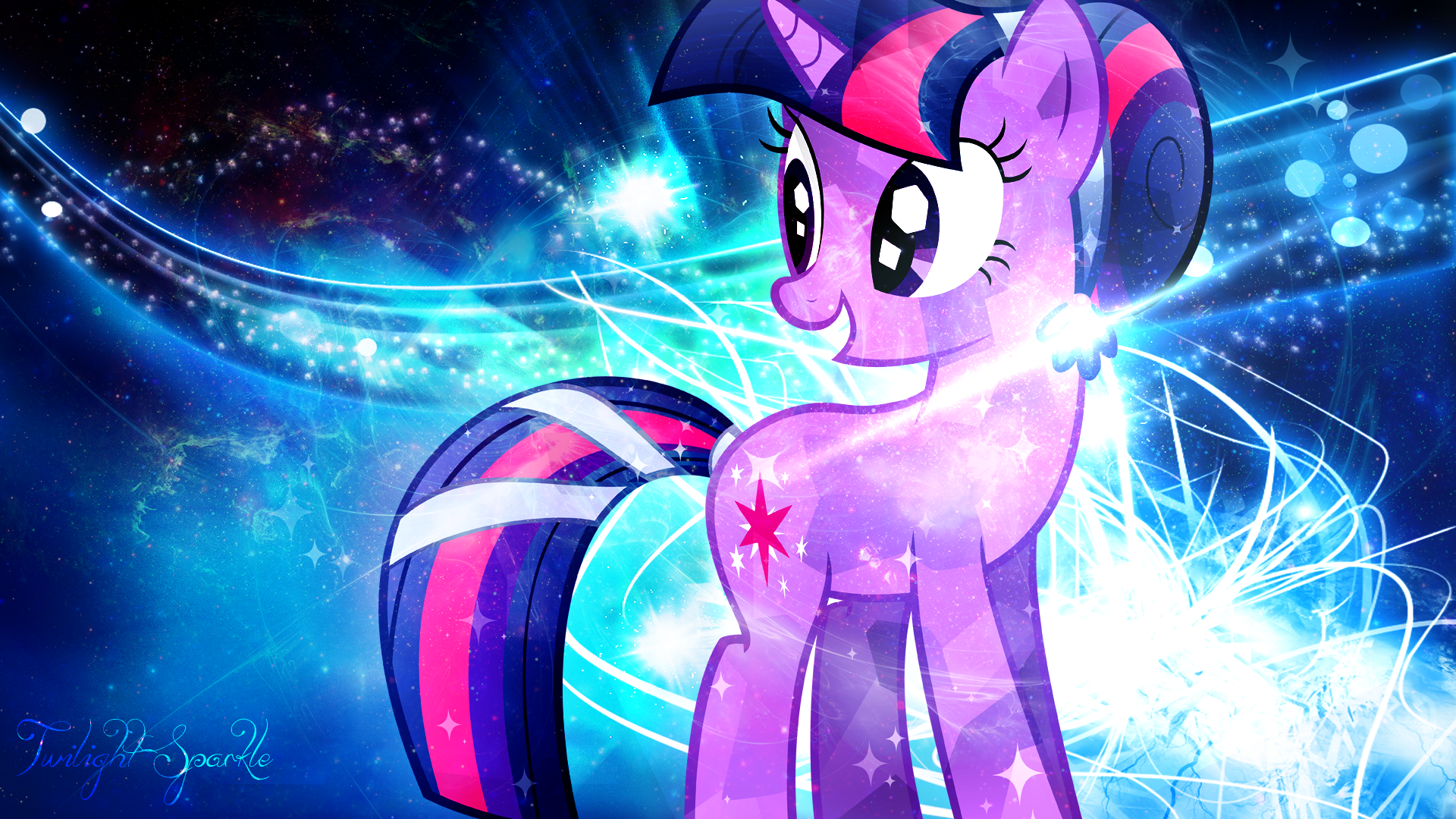 alicorn neon twi | Ponies | Pinterest | Twilight sparkle and Pony