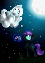 Night nad Snowflake by Alice4444DM