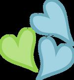 Lemon Hearts cutie mark by rildraw