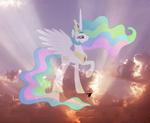Princess Celestia by artist-emberfiremane