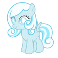 Snowdrop ~ The blind filly (with cutie mark) by 2bitmarksman.png