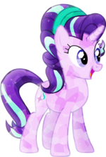 Crystallized starlight glimmer by xebck