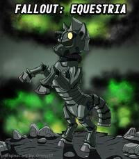 Fallout Equestria cover art