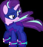 Starlight Glimmer Power Pony by slowlydazzle